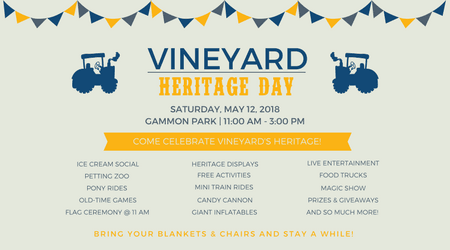 Vineyard Heritage Day