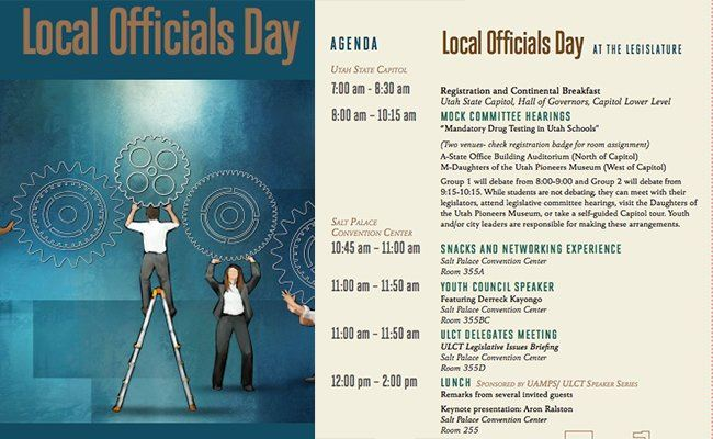 Local Officials Day flyer